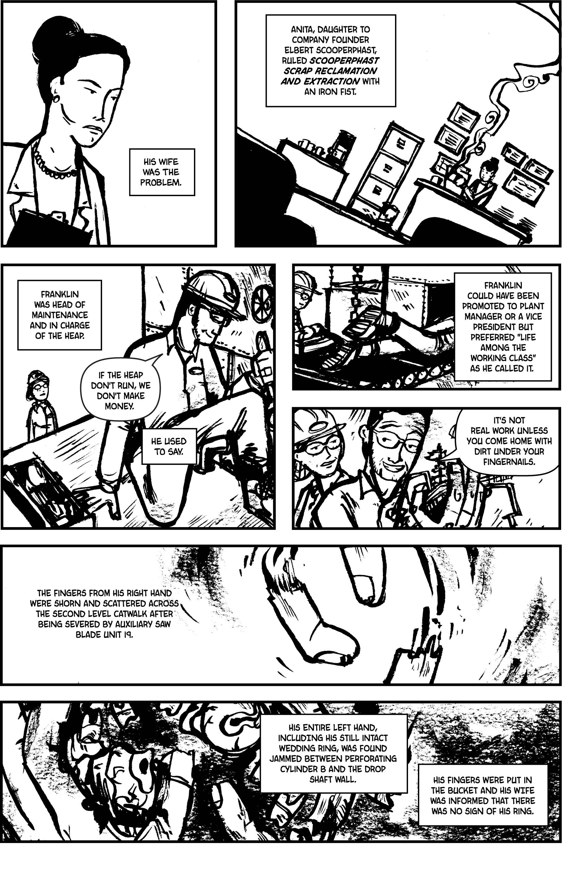Plastic Farm: Oh, Injury Page 3