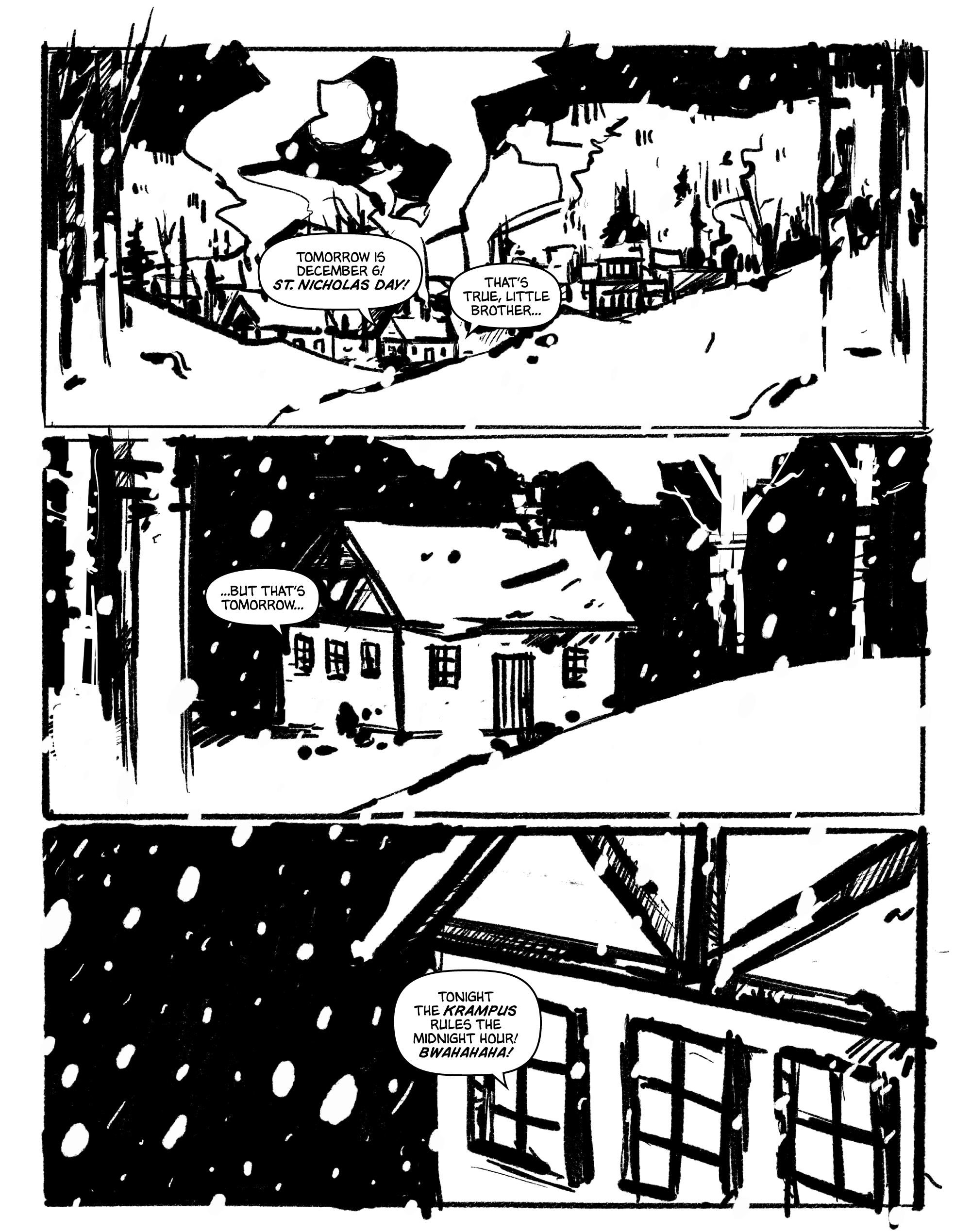 Krampus page 1